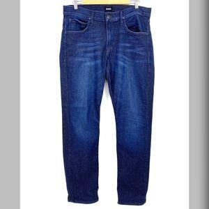 Men's Hudson Byron 5 Pkt Straight Leg Jean Sz 34 W
